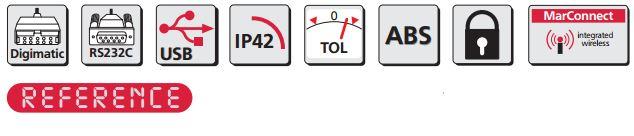 Đồng hồ so điện tử MarCator 1086 Ri