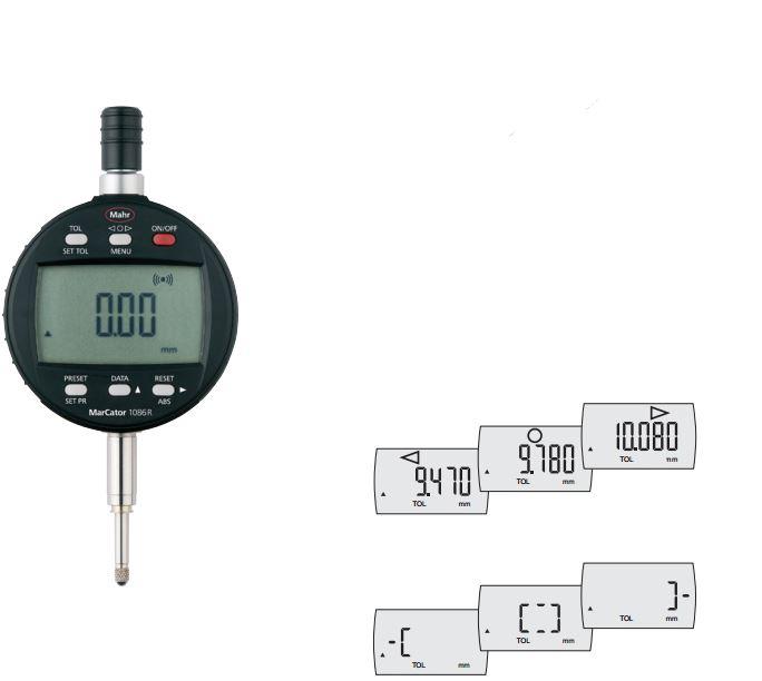 Đồng hồ so điện tử MarCator