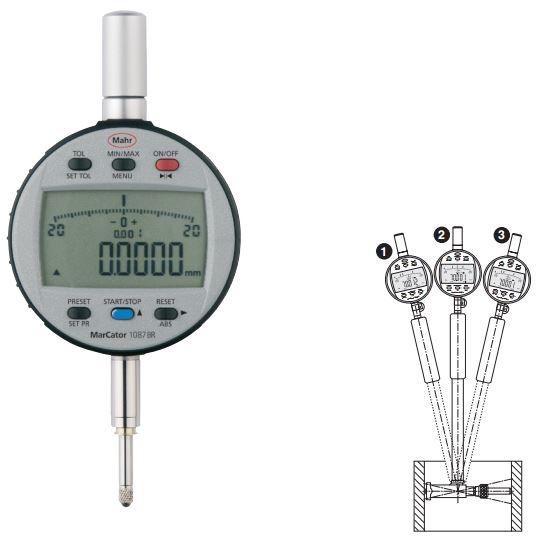 Đồng hồ so điện tử MarCator 1087 BR