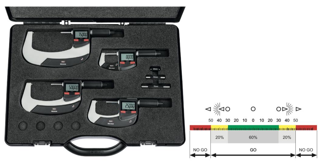 Set Panme điện tử Micromar 40 EWRi