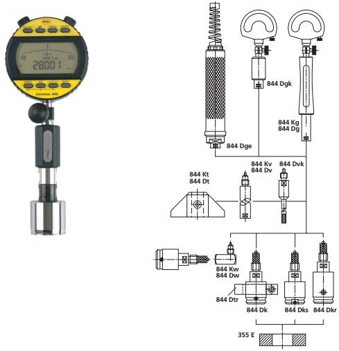 Ca líp đo lỗ điện tử MaraMeter 844 Dks