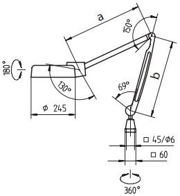 Kính lúp có đèn chiếu MarVision 130 WR