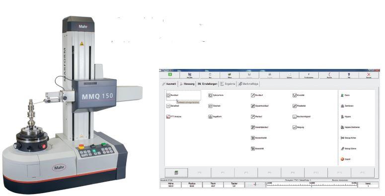 Máy đo độ tròn loại nhỏ MarForm MMQ 150