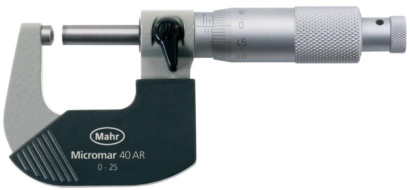 Panme cơ khí Micromar (hệ mét) 40 AR
