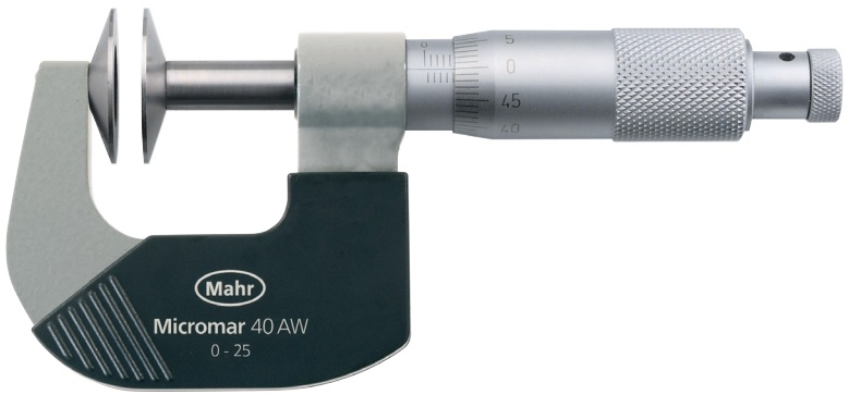 Panme cơ khí Micromar 40 AW