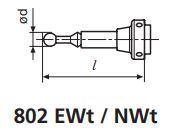 Đồng hồ so cơ khí đầu dò cảm ứng 3D MarTest 802 NW