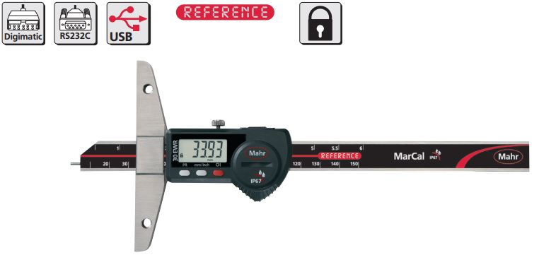 Thước đo sâu điện tử MarCal 30 EWR