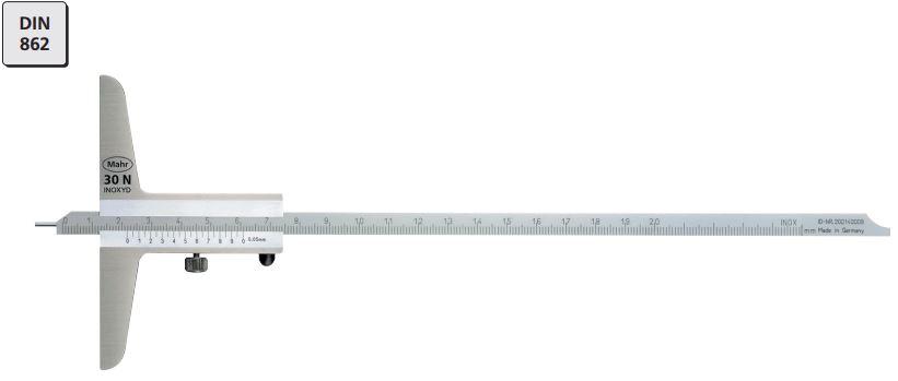 Thước đo sâu cơ khí MarCal 30 N