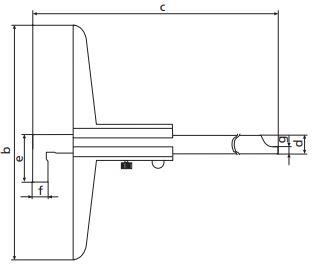 Thước đo sâu cơ khí MarCal 30 NH