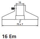 Thước kẹp cơ khí MarCal 16 DN