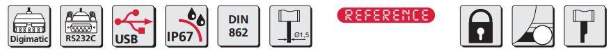 Thước kẹp điện tử MarCal 16 EWR tích hợp cổng dữ liệu