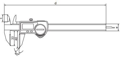Thước kẹp điện tử cho ứng dụng đặc biệt MarCal 16 EWRi-AR / 16 EWR-AR
