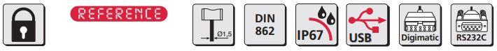 Thước kẹp điện tử cho ứng dụng đặc biệt MarCal 16 EWRi-C / 16 EWR-C