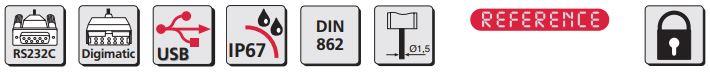 Thước kẹp điện tử cho ứng dụng đặc biệt MarCal 16 EWRi-H / 16 EWR-H