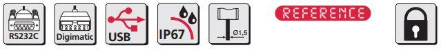 Thước kẹp điện tử cho ứng dụng đặc biệt MarCal 16 EWRi-NA / 16 EWR-NA