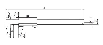 Thước kẹp cơ khí MarCal 16 FN