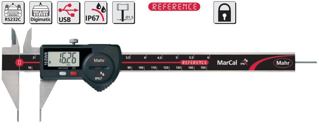 Thước kẹp điện tử cho ứng dụng đặc biệt MarCal 16 EWRi-SM / 16 EWR-SM