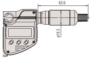 Panme điện tử chống thấm nước Mitutoyo 293