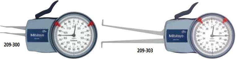Ngàm đo kích thước trong loại đồng hồ Mitutoyo