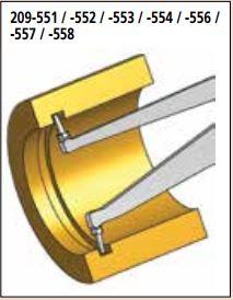 Ngàm đo kích thước trong ống điện tử Mitutoyo