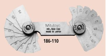 Dưỡng đo góc (radius) Mitutoyo