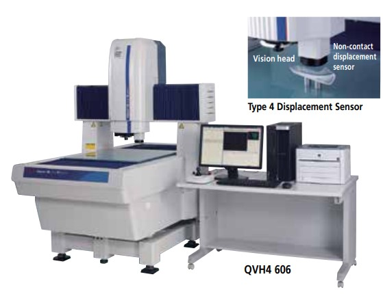 Hệ thống kính hiển vi đo lường Mitutoyo QV Hybrid Loại 1, Loại 4