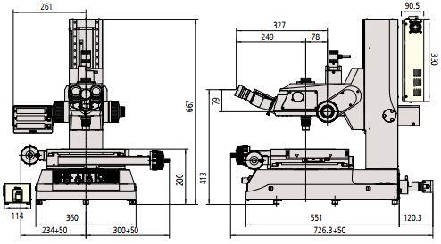 Kính hiển vi đo lường Mitutoyo Series 176 MF