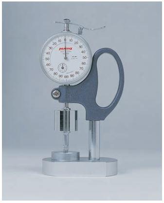 Đồng hồ đo độ dày (loại lực cố định) Peacock
