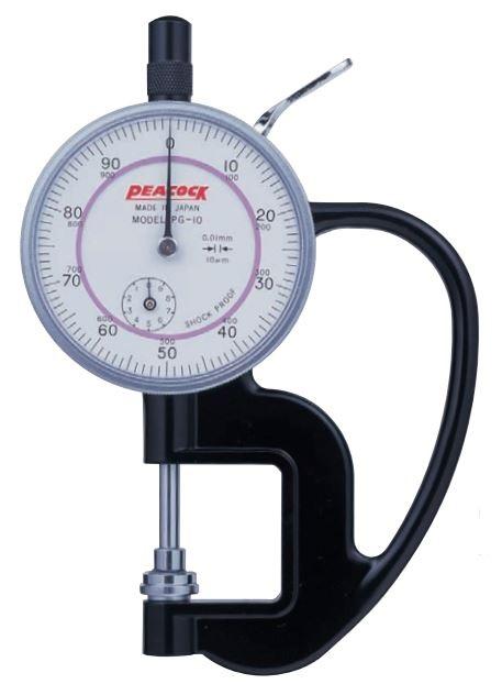 Đồng hồ đo độ dày giấy Peacock