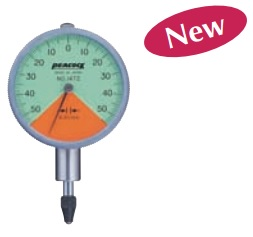 Đồng hồ so cơ khí một vòng đo Peacock Z series