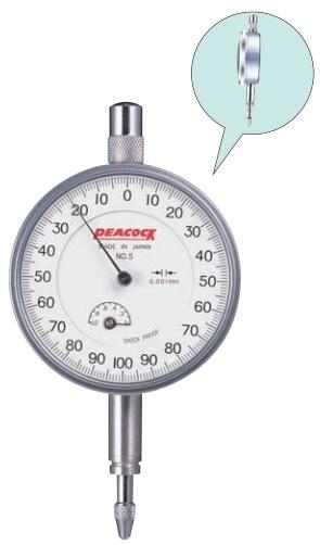 Đồng hồ so cơ khí loại tiêu chuẩn Peacock
