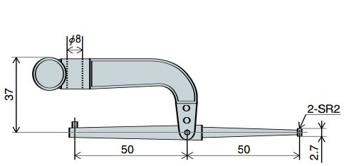 Đầu đo gập Peacock XY Series