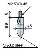 Đồng hồ đo sâu Peacock T Series
