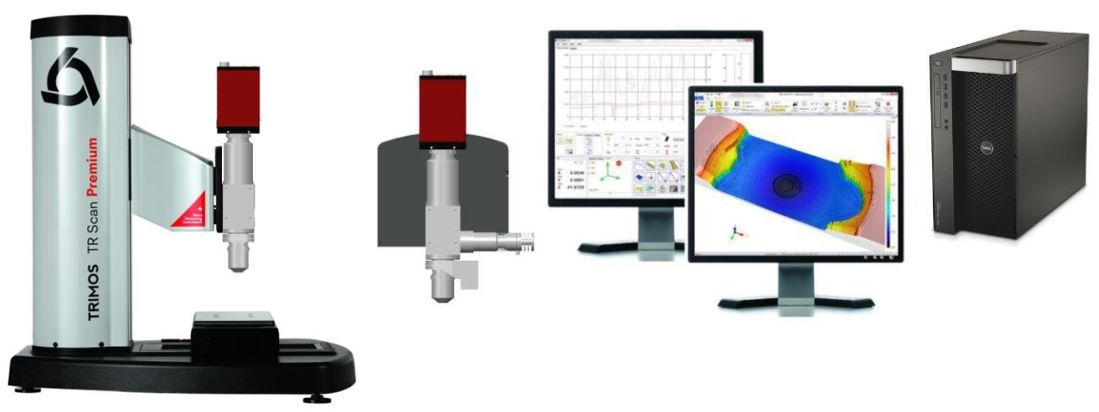 Máy đo độ nhám Trimos 3D WLI