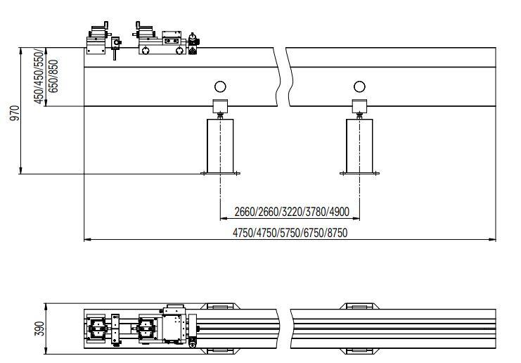 Thiết bị cài đặt và hiệu chuẩn chiều dài Trimos